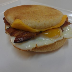Egg and Bacon Muffin